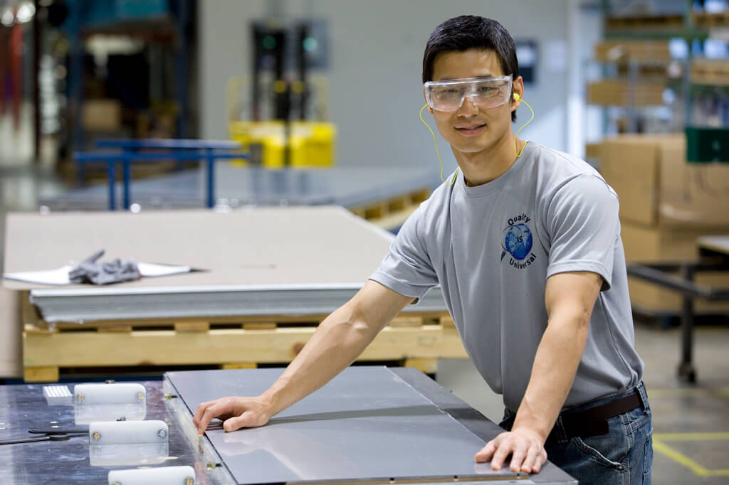 Photo of young male employee